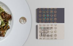 coin: restaurant and bar on Branding Served #card #business