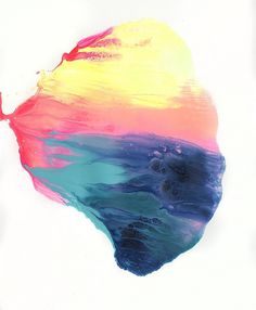 Stunning Color Blends by Michael Cina | Art Sponge #abstract #design #color #blend #paint #cina #michael