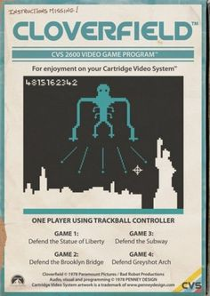 8-BIT MOVIE GAMES - Pìcame – Visual arts smugglers. #graphic design #illustration #poster #games