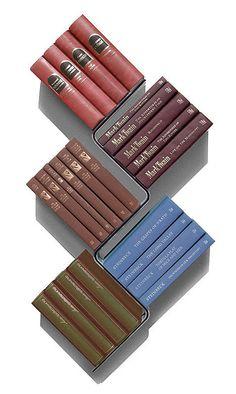 Bookshelves with minimalist design and expressive Conceal book shelf - www.homeworlddesign. com (13)