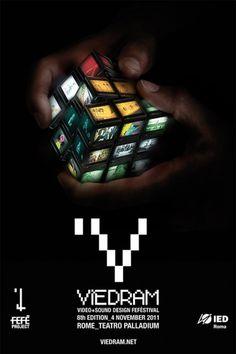 Francesco Vetica | Designer | Viedram 2011 #adv #3d #poster