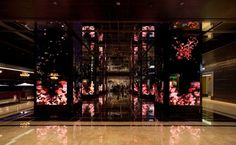 Cosmopolitan Hotel : somethingsavage #hotel #lobby #animation #generative