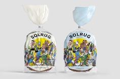 Illustration in Packaging Design – Solrug by Bielke & Yang, Norway