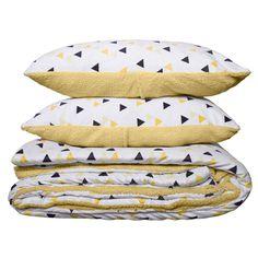 Sherpa Bedding Set Multi 220cm x 240cm