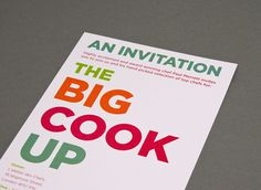 rFreedom from Torture. The Big Cook Up Event. #agency #a #tree #in #london #design #fish #graphic #website #3 #identity #logo #brochure