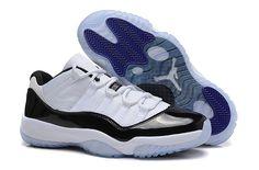 Nike Air Jordan 11 Retro Womens Shoes White Black New