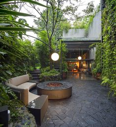 This Mexico City House is Conceived as a Harmony Between Architecture and Lush Gardens