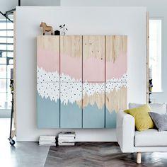 IKEA IVAR pimped pinewood cabinet