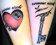 35 Meaningful Lock And Keys Tattoos