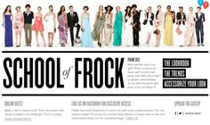 ashley meyers design: portfolio #bloomingdales #lookbook #design #com #prom #web