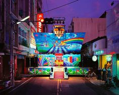 Colorful Taiwanese Stage Trucks by Shen Chao-Liang