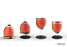 Bottlass - Bottle & Glass Dual Container