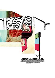 GigPosters.com - Neon Indian #poster