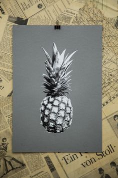 Pineapple Edition 6 Screen Print
