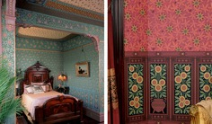 Bradbury Victorian Home Wallpapers | Aesthetic Herter Brothers Roomset