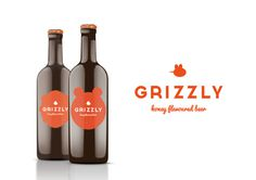 Grizzly Beer on Behance #packaging #beer #bear #bottle