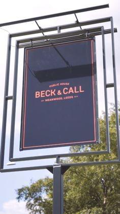 Pub Sign Design for Beck & Call