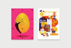 Nifty—50 by Socio Design #poster #graphic design
