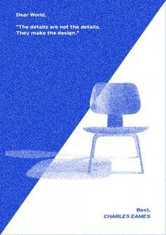 Cosmos Collective - design studio #graphic design #poster #chair #cosmos collective #simple project #pretzel