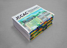 JCCAC Programme May and June Issues on Behance