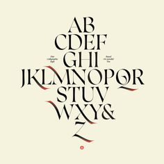 Caligo Typeface on Behance #calligraphy