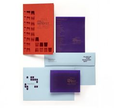 MFAA | OCD | The Original Champions of Design #branding #identity #museum #diecut #stationery #collateral #institution