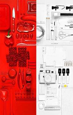 SUBMISSION: www.nilscarlson.se #things #organize #white #red