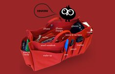 Coucou Bag Organizer – Swiss Organization For Your Handbag #gadget
