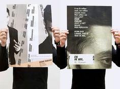 Pot en van der Velden — Grafisch Ontwerpers #poster #typography