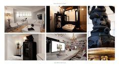 Bruno Tatsumi / School/SS99 #interior #design #interiors #gold