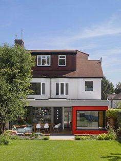 Minchenden Crescent by Andrew Mulroy Architects
