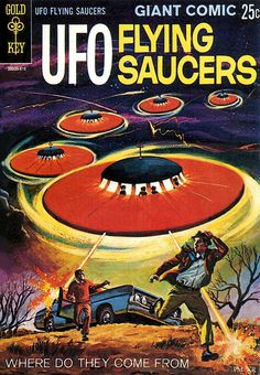 1968 ... giant comic flying saucers! | Flickr Photo Sharing! #flying #saucer #ufo