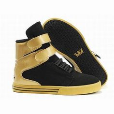 women tk society gold and black high top supra shoes #shoes