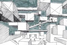 Yona Friedman - Ville spatiale, the Spatial City #urban