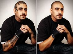 Skin Deep: Steven Burton Photoshops Out Ex-Gang Members Tattoos