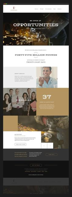Endless Website Design. Responsive layout. See the work here: http://on.be.net/1JYj0oG #web design #website design #responsive #wacom #websi