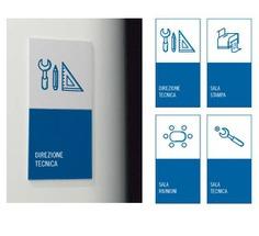 office Wayfinding | Signage | Sign | Design | 公司标识系统