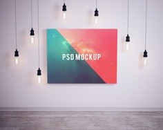Picture on wall with bubble lights mock up Premium Psd. See more inspiration related to Frame, Mockup, Template, Web, Bubble, Website, Wall, Mock up, Lights, Picture frame, Templates, Website template, Picture, Mockups, Up, Web template, Realistic, Real, Web templates, Mock ups, Mock and Ups on Freepik.