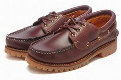 timberland mens classic 3 eye waterproof boat shoes wine #shoes