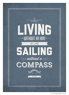 John Ruskin quote poster by NeueGraphic