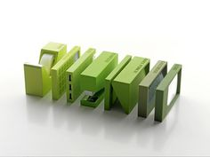 Next Then Here Now #supplies #office #product #rectangular #green