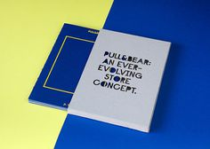 Pull & Bear Corporate Book on Behance #editorial