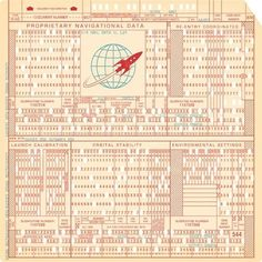 Docking Maneuver Die Cut 12X12 Rocket Age Collection Paper by October Afternoon - Two Peas in a Bucket #rocket