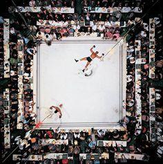 Muhammad Ali #MuhammadAli #boxing #birdseyeview #ali