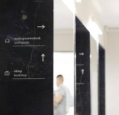 Wayfinding | Signage | Sign | Design 波兰华沙维拉努夫宫黑白绿小图标