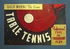 Photo of vintage packaging label #pong