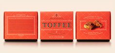 Mrs. Weinsteins Toffee Lineup #packaging #candy #design