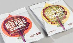 Loving Earth / Swear Words #packaging #chips #red #kale