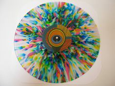 IMG_2400.jpg #rainbow #record #vinyl #fun #splatter
