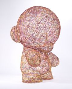'Play' Munny on Toy Design Served #sculpture #toy